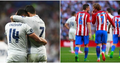 Реал Мадрид против Атлетико Мадрид