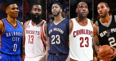 најдобра петорка во НБА