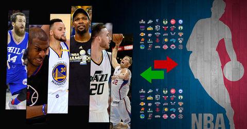 НБА трансфери