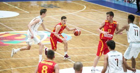 Македонија кошарка