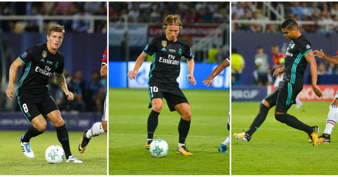 Трио Реал Мадрид