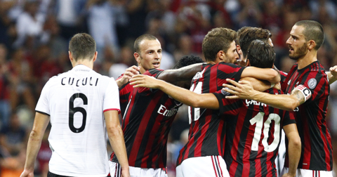 Милан против Шкендија