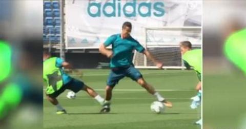 Кристијано Роналдо тренинг