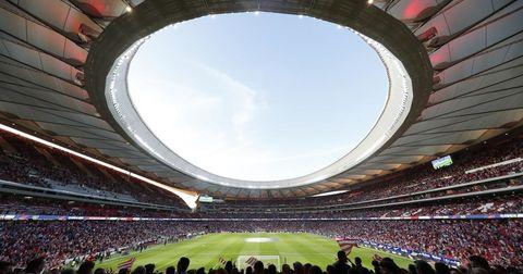 Атлетико Мадрид стадион