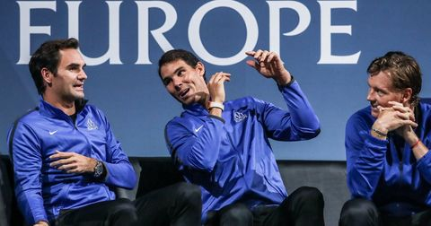 Надал и Федерер двојки
