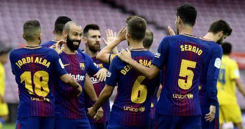 Барселона победа