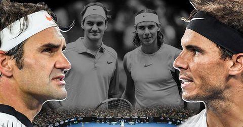 Федерер против Надал