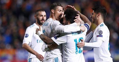 Реал Мадрид насловна