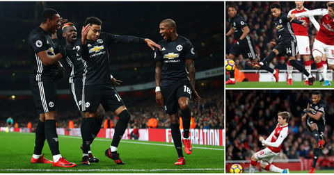 Манчестер Јунајтед победа над Арсенал