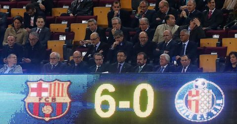 Барселона Хетафе