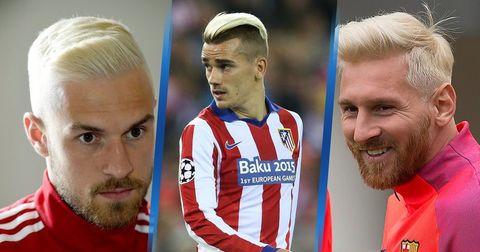 фудбалери со фризури