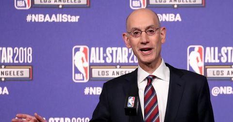 Адам Силвер НБА