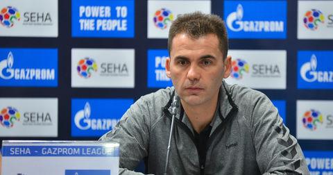 Раул Гонзалез на прес конференција