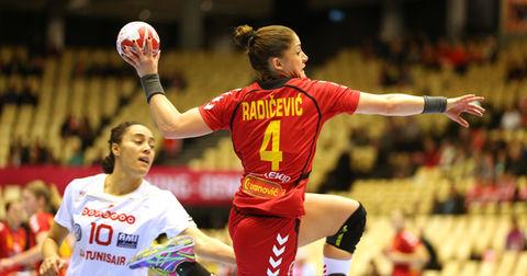 Јованка Радичевиќ во акција на Мундијалот