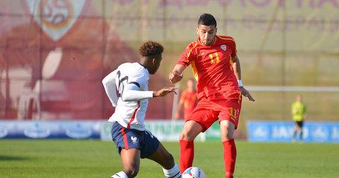 Дуел од натпреварот Македонија - Франција
